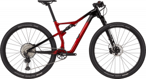 Cannondale Scalpel Carbon 3 2021 - sort/rød
