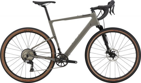 Cannondale Topstone Carbon Lefty 3 2021 - grå