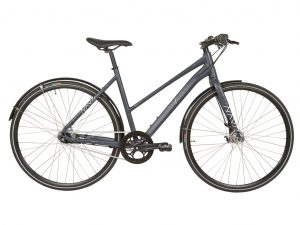 Micado Sport - City Bike - Dame - 7 gear - Rullebremser - Matgrå/blå - 56cm