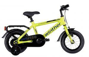 """Winther 150 12"""" Dreng 1g 2021 - Gul"""