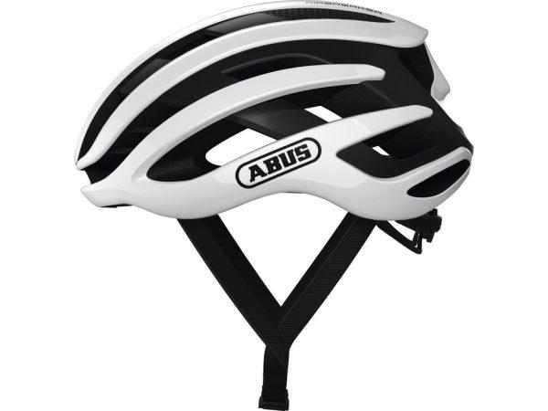 Abus AirBreaker - Cykelhjelm - Hvid - Str. 51-55cm