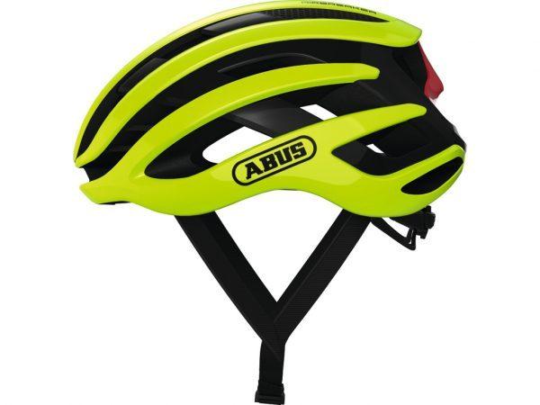 Abus AirBreaker - Cykelhjelm - Neon gul - Str. 51-55cm