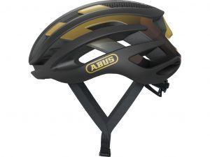 Abus AirBreaker - Cykelhjelm - Sort/guld - Str. 52-58cm