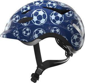 Abus Anuky Hjelm - Blue soccer