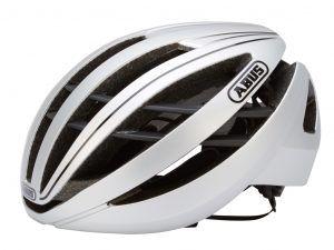 Abus Aventor - Cykelhjelm - Sølv - Str. 51-55cm