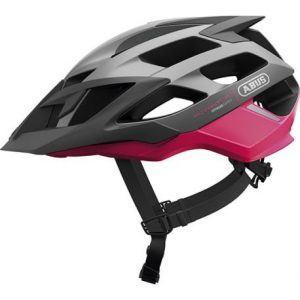 Abus Fuchsia pink Moventor cykelhjelm