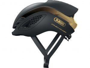 Abus GameChanger - Aero cykelhjelm - Sort/guld - Str. 58-62cm