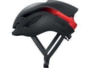 Abus GameChanger - Aero cykelhjelm - Sort/rød - Str. 51-55cm