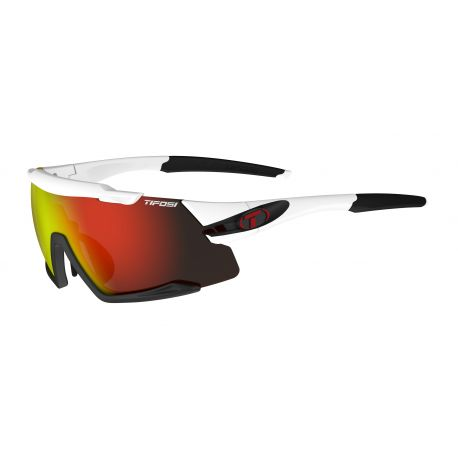 Aethon White/Black Clarion Red/AC Red/Clear cykelbriller Tifosi