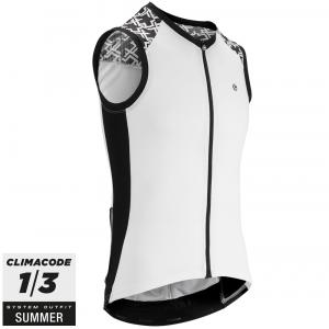 Assos Cykeltrøje Mille GT No Sleeve Jersey, Hvid