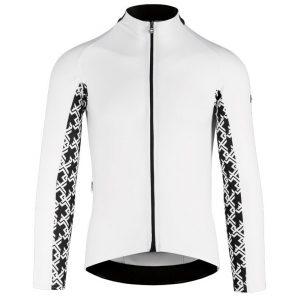 Assos MILLE GT LS Jersey - Langærmet Cykeltrøje - Hvid