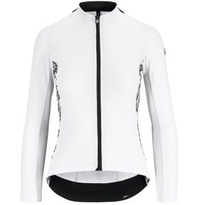Assos UMA GT Summer LS Jersey - Langærmet Cykeltrøje - Hvid