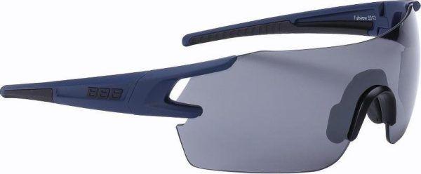 BBB FullView Cykelbriller med 3 sæt linser - Mørkblå