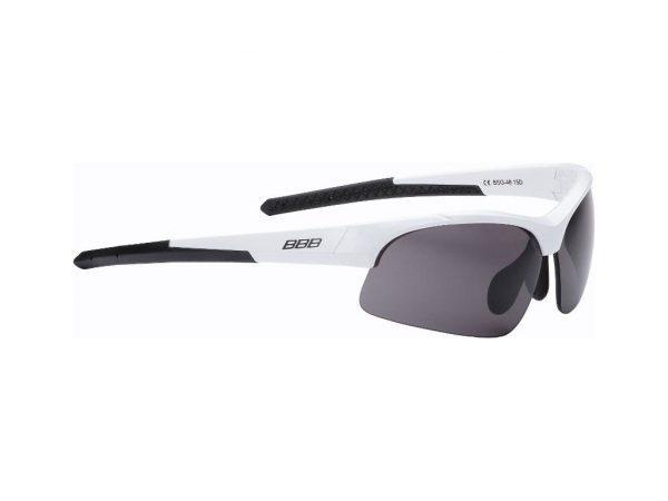 BBB Impress BSG-58 - Løbe- og cykelbrille - 3 sæt linser - Mathvid