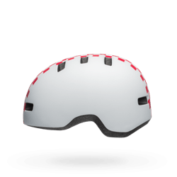 Bell Lil Ripper Child Checkers Matte White Pink