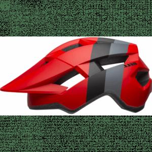 Bell Spark Cykelhjelm, mat rød/sort