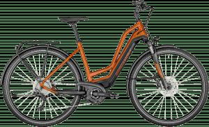 Bergamont E-Horizon Edition Amsterdam 2021 - Rød