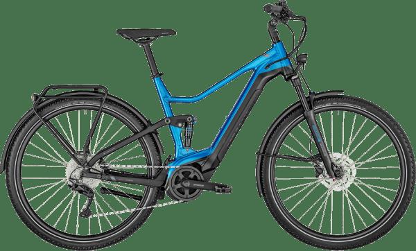 Bergamont E-Horizon FS Edition 2021 - Blå/Sort