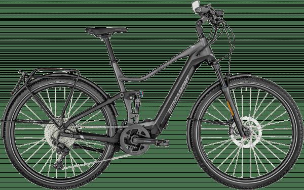Bergamont E-Horizon FS Elite Speed 45 km/t 2022 - Sort/Grå