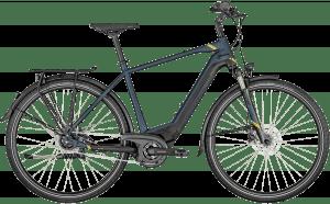 Bergamont E-Horizon N5e FH 500 Gent 2021 - Blå