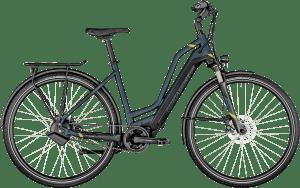 Bergamont E-Horizon Pro Belt Amsterdam 2021 - Blå/Sort