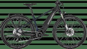 Bergamont E-Revox 4 EQ 2021 - Sort/Blå