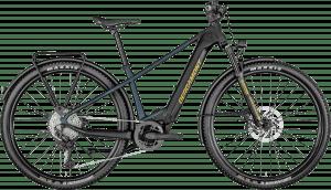 Bergamont E-Revox Elite EQ 2021 - Blå/Sort