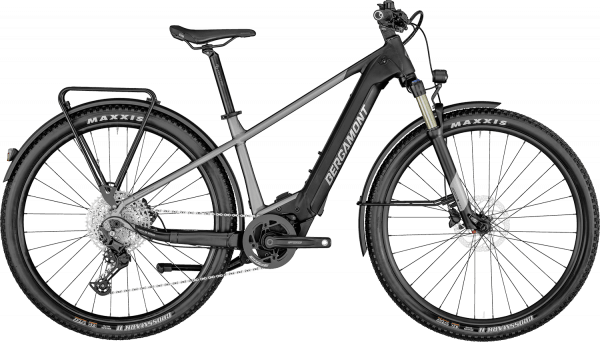 Bergamont E-Revox Pro EQ 2022 - Sort/Grå