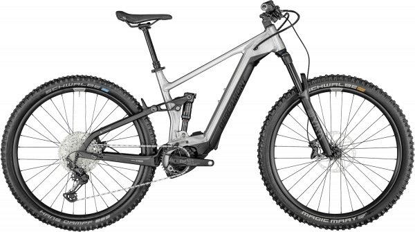 Bergamont E-Trailster Expert 2022 - Sølv/Grå