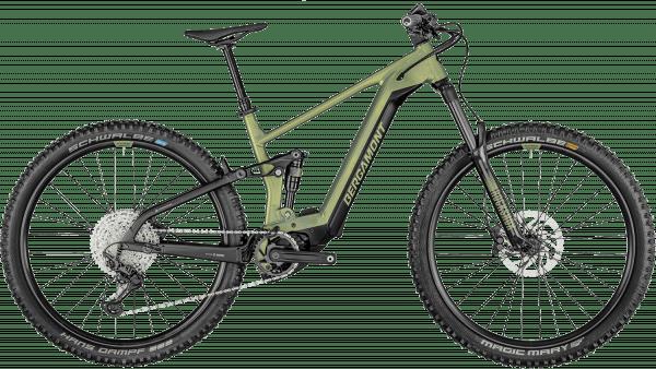 Bergamont E-Trailster Pro 2021 - Grøn