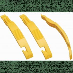 Bike Attitude dækjern til lapning og udskiftning af slange (sæt), gul