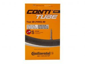 "Continental Tour 28 All - Cykelslange - Str 700x32-47c - 28"" x 1,75-2.0 - Racerventil 42mm"