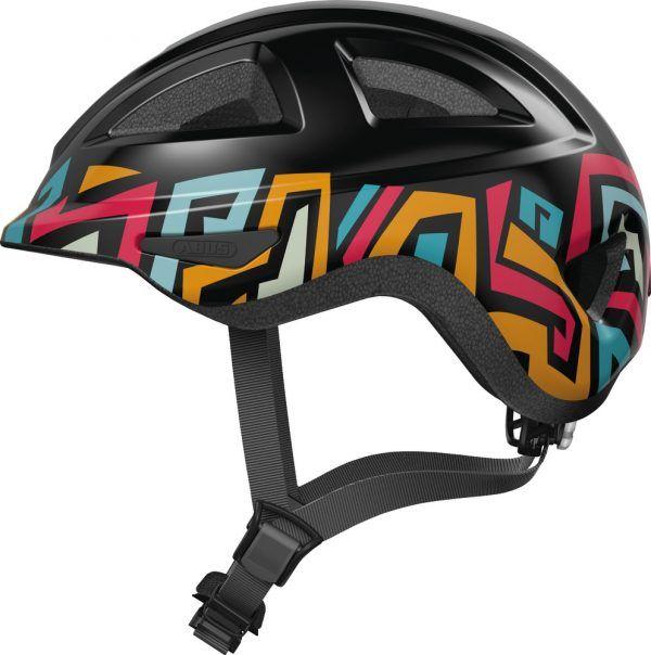 Cykelhjelm Abus Anuky 2.0 - Black Tag