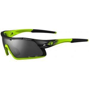 Davos Race Neon Smoke/red/clear cykelbriller Tifosi