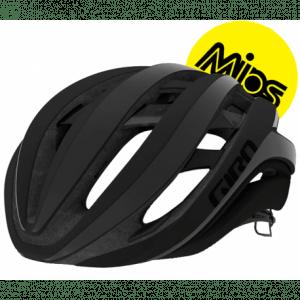 Giro Aether Mips cykelhjelm, mat sort (reflekterende)
