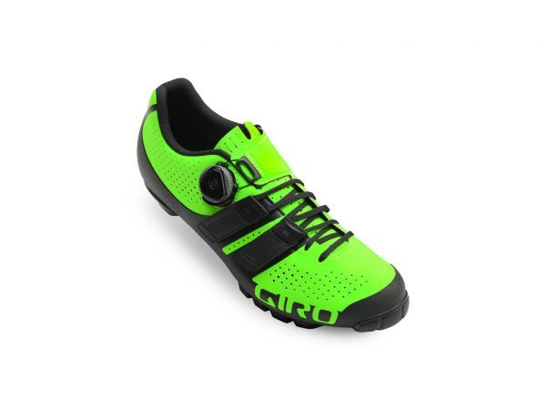 Giro Code Techlace - Cykelsko MTB - Str. 41 - Lime/Sort