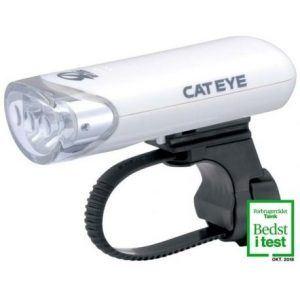 Hvid Forlygte Cateye HL-EL135N - testvinder 2020