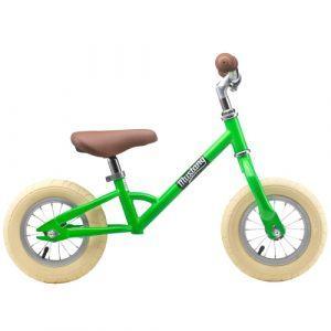 """Mustang 10"""" løbecykel - Green"""