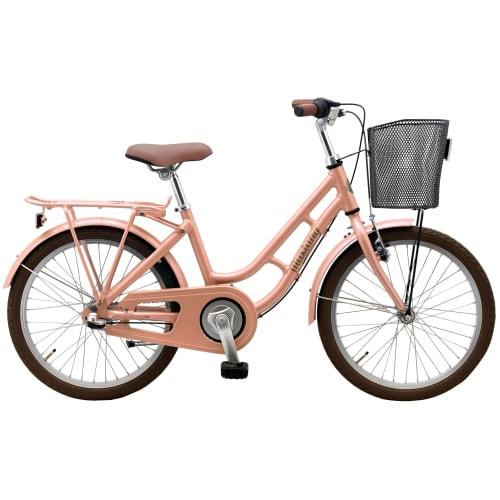 "Mustang Dagmar 20"" pigecykel med 3 gear - Peach"