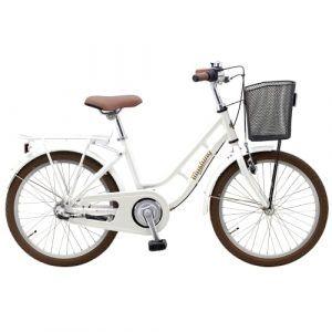 "Mustang Dagmar 20"" pigecykel med 3 gear - Pearl white"
