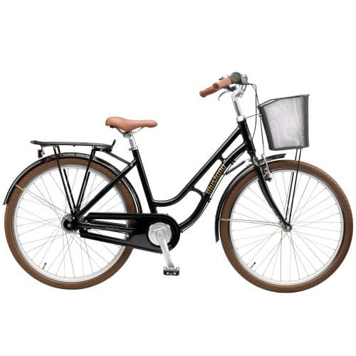 """Mustang Dagmar 26"""" pigecykel med 7 gear - Black"""
