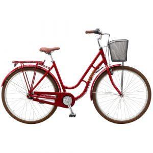 "Mustang Dagmar 28"" damecykel med 7 gear - Red"