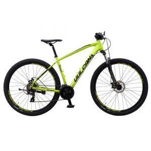 """Mustang Vulcan TX440 29"""" mountainbike med 21 gear - Lime green"""