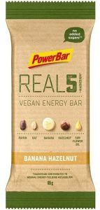 PowerBar REAL5 Veagan Energy Bar - Banana Hazelnut