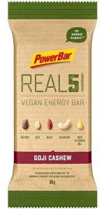 PowerBar REAL5 Veagan Energy Bar - Goji Cashew