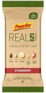 PowerBar REAL5 Veagan Energy Bar - Strawberry