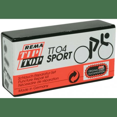 Rema Tip Top lappegrej sæt til racercykler