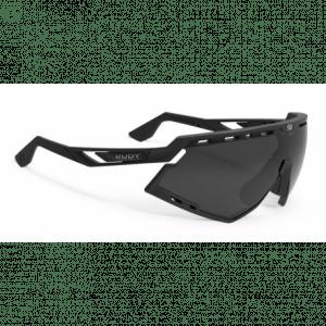 Rudy Project Defender cykelbrille, sort m. sort linse