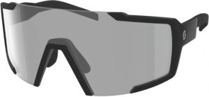 Scott Shield Light Sensitive Solbrille - Black Mat