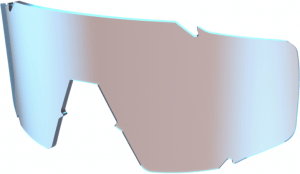Scott Shield Replacement Glas - Blue Chrome